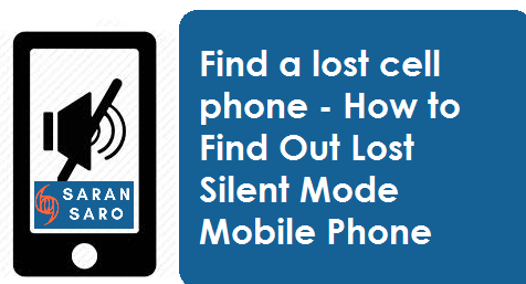 Find a lost cell phone