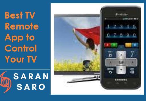 best tv remote app