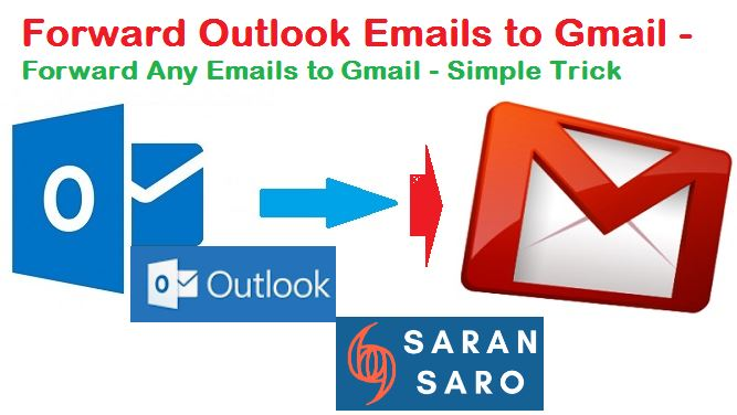 Forward Outlook Emails to Gmail