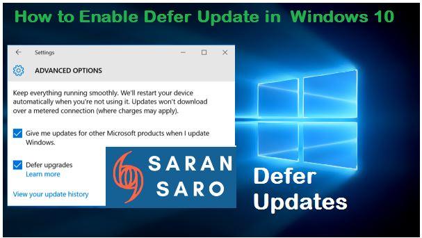 defer update