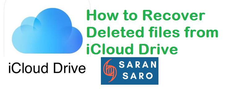 recover files from iCloud