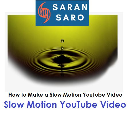 slow motion youtube video