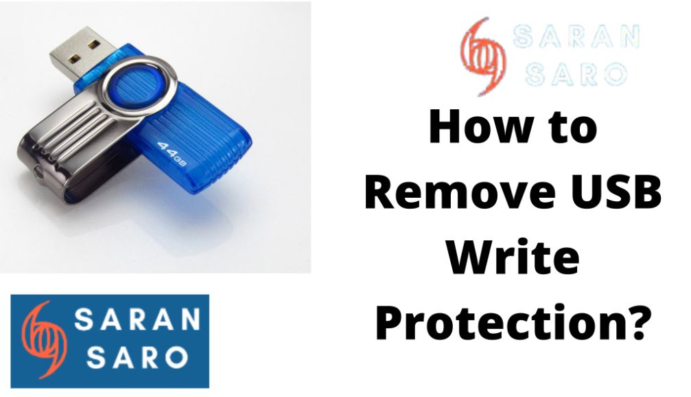 How to remove usb write protection