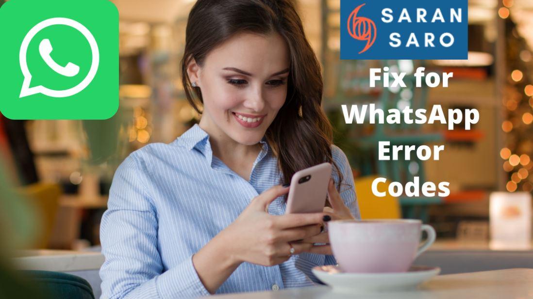 fix for whatsapp error codes