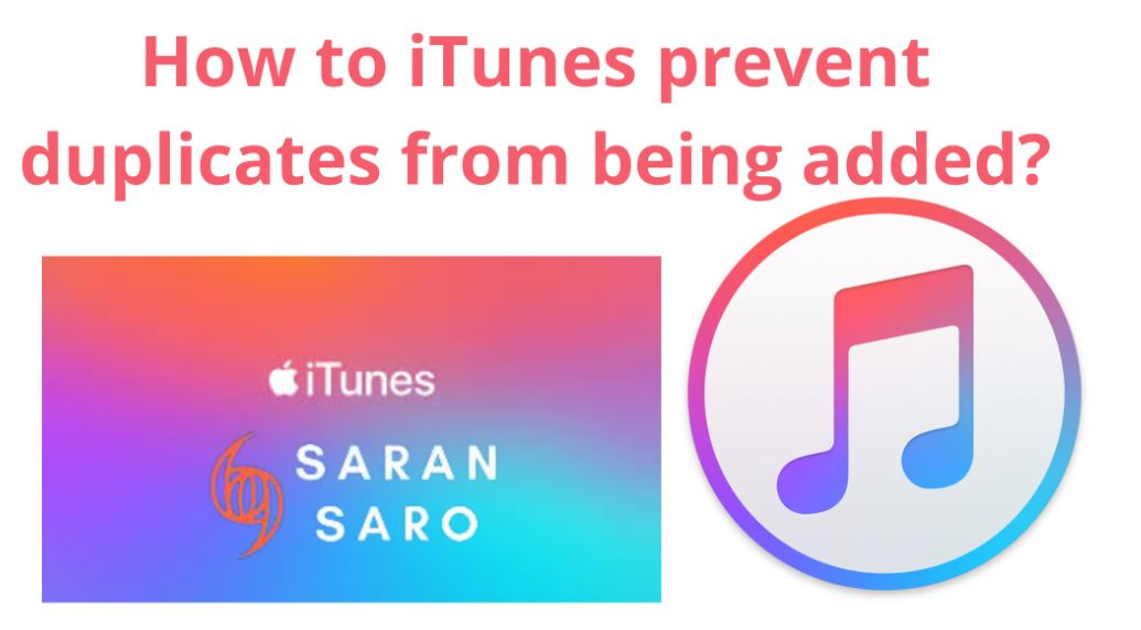 iTunes prevent duplicates from being added