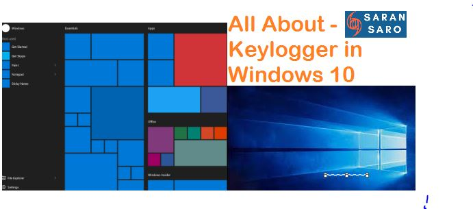 keylogger in Windows 10