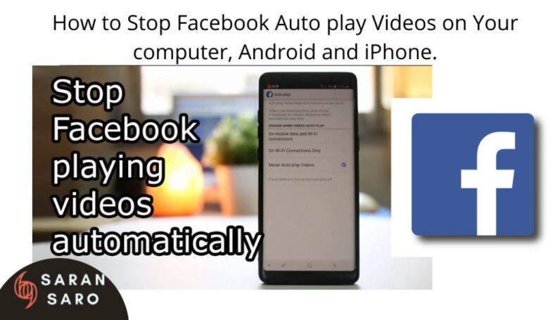 stop Facebook auto play