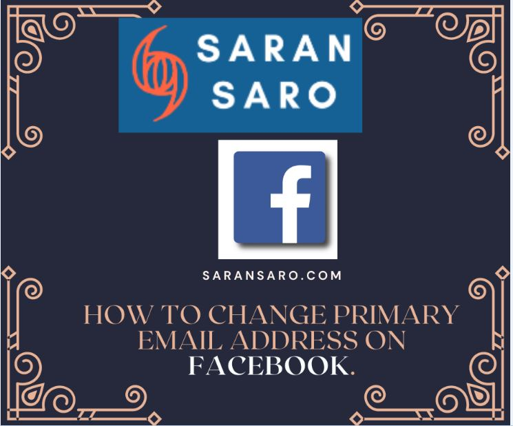 Change Primary Email Address on Facebook