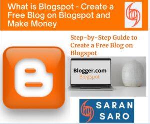 Create a free blog on blogspot