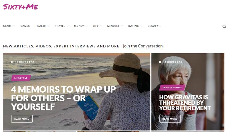 blogs for senior women