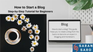 how to start a blog and earn