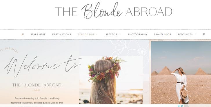 travel blogs for women
