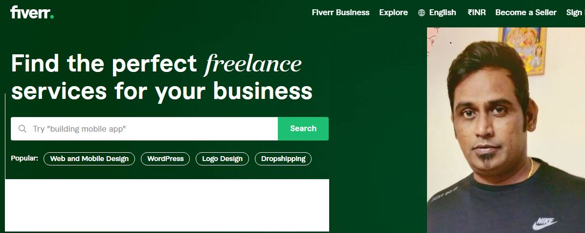 Fiverr mobile apps