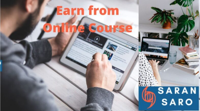 earn from online course from home