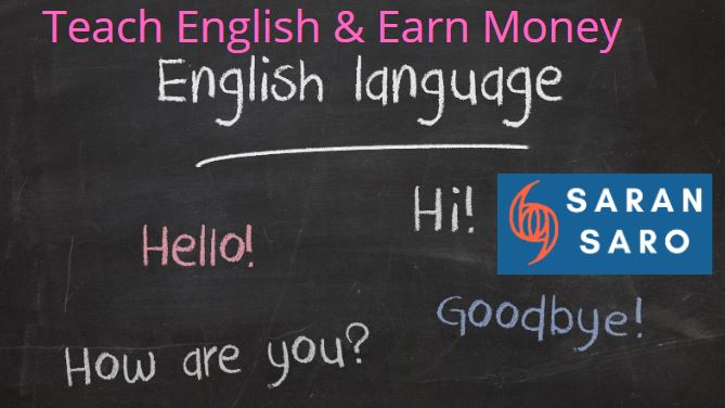 earn money online from English teaching