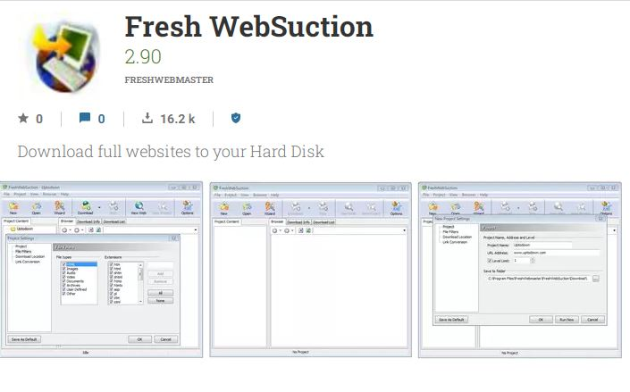Fresh websuction web page download to read later