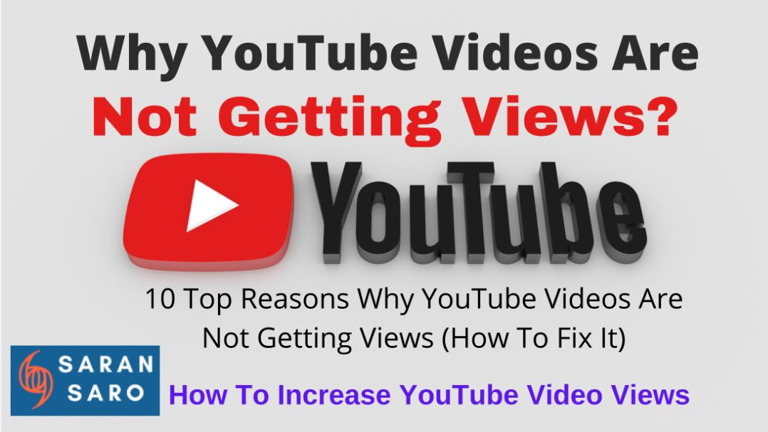 YouTube videos not getting views