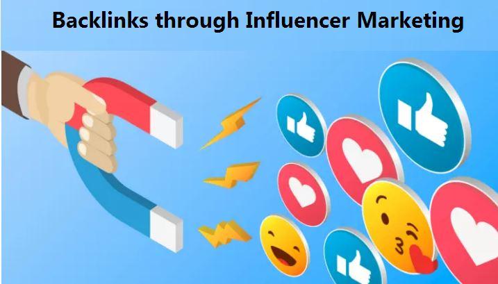 back-link from influencer marketing