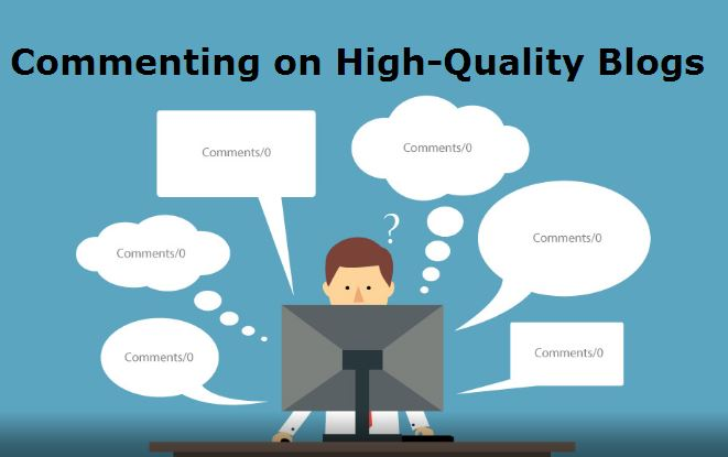 commenting on high-authoritive sites