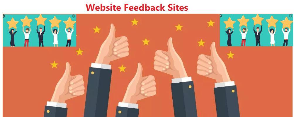 earn backlinks from feedback sites