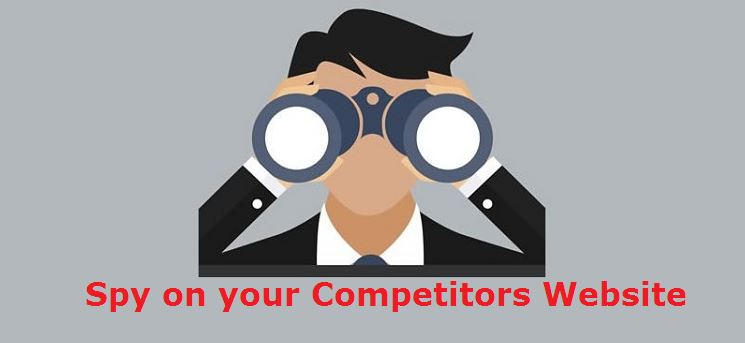 spy competitors website and gain backlinks