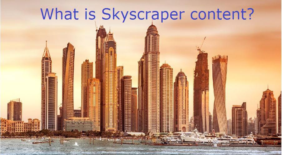 what is skycraper content