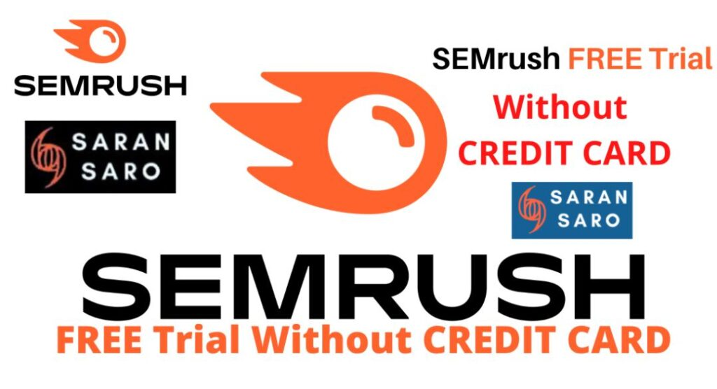 Semrush free trial without credit card