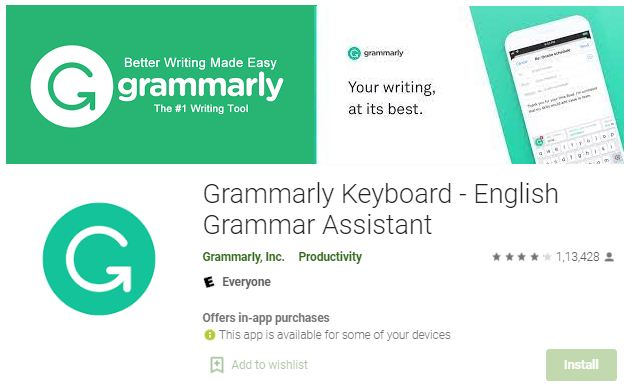 Apps for English Typing