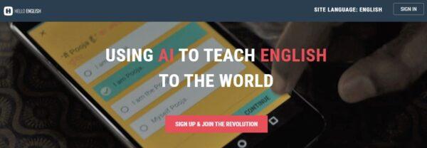 Teaching English App - Hello English