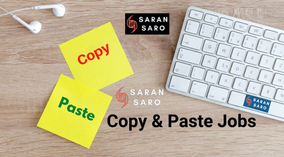 online copy paste jobs without investment daily payment from home