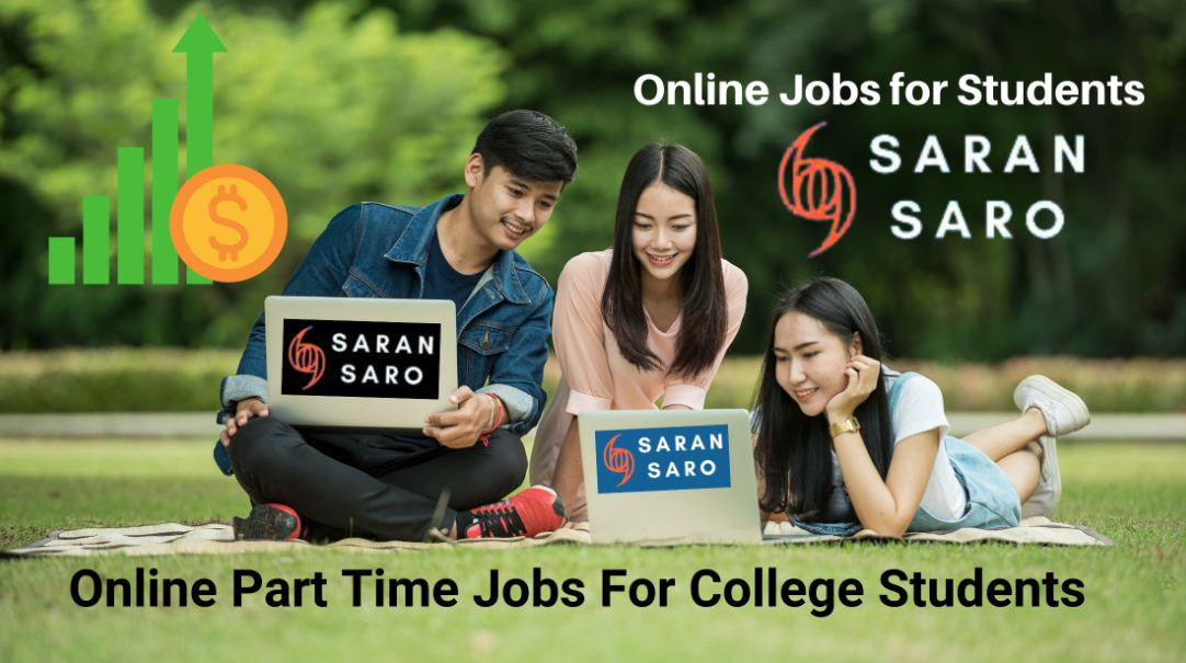 online part time jobs for college students without investment