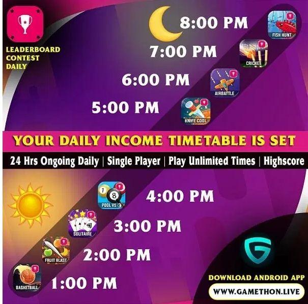 Gamethon best mobile gaming app