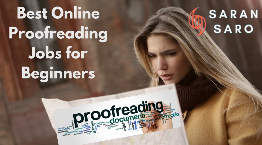 Best Proofreading Jobs in India for Beginners